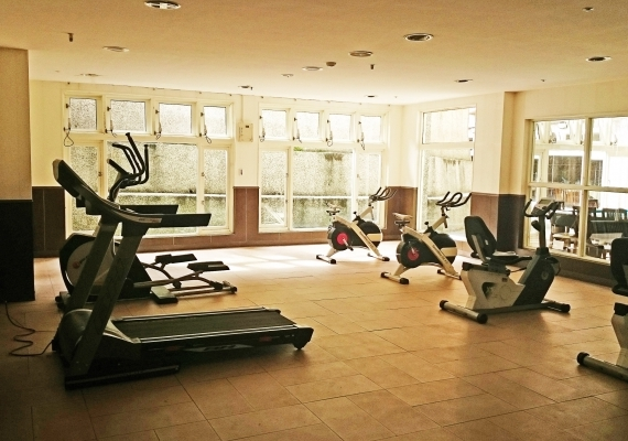 【Sun-Link-Sea Hotel】Fitness area